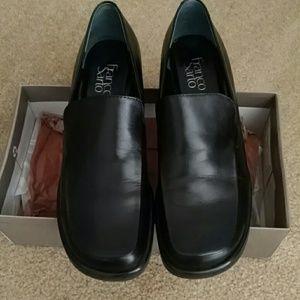 Franco Sarto Black dress loafers